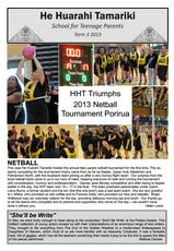 Term 3 2013 Newsletter