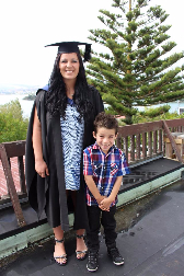 Sarah Smith graduation with noah-67